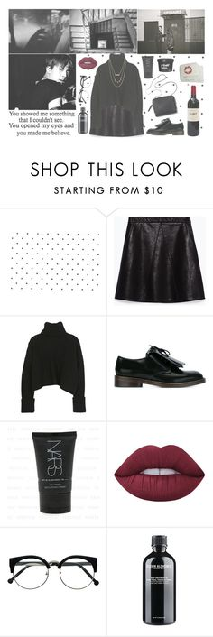 """*you made me believe*"" by milda-mint ❤ liked on Polyvore featuring Zara, Marni, 3.1 Phillip Lim, Lime Crime, Ylang Ylang and Forever 21"