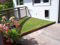 Pet Patio with K9Grass