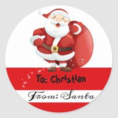 Shop Christmas From Santa To stickers created by ThreeFoursDesign. Xmas Wrapping Paper, Christmas Gift Wrapping, Christmas Gifts For Kids, Christmas Ideas, Holiday Cards, Christmas Cards, Christmas Stationery, Quinceanera Invitations, Christmas Stickers