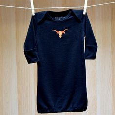 Texas Baby Lap Shoulder Gown