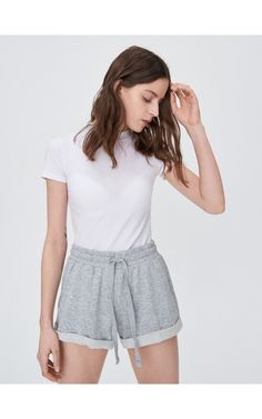 Pantaloni scurți sportivi, View all, gri deschis, SINSAY Tracksuit Bottoms, Casual Shorts, Short Dresses, Outfits, Women, Style, Fashion, Short Gowns, Swag