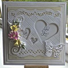 Nice idea for wedding card