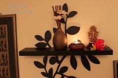 Indian Home Mandir Indian Home Interior, Indian Interiors, Ethnic Home Decor, Indian Home Decor, Indian Decoration, Pooja Room Design, Mandir Design, Sweet Home, Puja Room