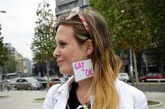 Gay Pride 2013 Milan  Gay is Okay. Be proud of it.