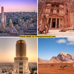 This 6 Days Best of Jordan tour through Jordan covers all the major highlights. With a mix of touring and free time, you can cater the trip to your personal preferences. Begin in Amman, where you can relax or go to a cook-and-dine experience to learn about the local cuisine. Then, head to Petra to explore the UNESCO World Heritage Site, including the Royal Tombs, the Monastery, and more. Next, venture to Wadi Rum to explore—and camp in—the desert, before a relaxing finale at the Dead Sea. Jordan Tours, Wadi Rum, Amman, Dead Sea, Heritage Site, Free Time, Petra, Geography, The Locals