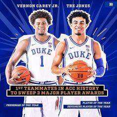 Duke Blue Devils, Duke Basketball, Freshman, Vernon, History, Jr, Historia