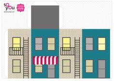 #Paper #Toy #House par Solange ABAZIOU pour Le Quai Angers - Paper House – Maison de papier – Modèle 10 - http://soyou.fr/