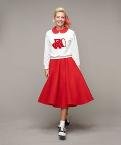 Grease® Cheerleader Costume for Women | Chasing Fireflies