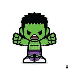 SPOILER ALERT! This guy will bust out from the Hulkbuster 😂 #hulk #hulkbuster #avengers #infinitywar #incrediblehulk #sneakers #cute #chibi #superhero Chibi Marvel, Marvel Art, Marvel Dc Comics, Marvel Avengers, Marvel Comic Character, Comic Book Characters, Marvel Characters, Marvel Cartoons, Marvel Memes