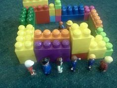 Flame: Creative Children's Ministry: Joshua and the walls of Jericho with 3-5s