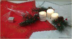 centrotavola a forma di Stelle,Rosso e dorato o bianco e argento #Natale #ffchristmas #ilfilodiariannanoline