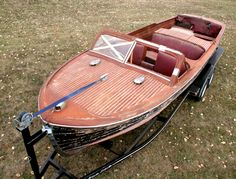 25-sportsman VERY RARE original barn find. One of only three made and will really be a beauty once the wood, fabric, hardware and other details are restored to original luster.