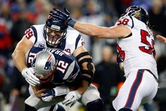 Watt gets a sack; but team defense was down in 2012 from a year ago.
