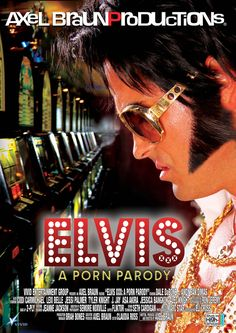 ELVIS  XXX  A PORN PARODY - The triple-X parody of The King himself. See what happens when that big rhinestone buckle comes off and those hips really start shaking! From Axel Braun, maker of 2010`s best selling DVD, the critically acclaimed Batman parody. Also includes a non-sex version.