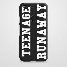 Teenage Runaway case provides a protective yet stylish shield between your Google Pixel and accidental bumps, drops, and scratches. Features slim and lightweight profile, precise cutouts, and provides