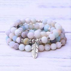 #paybackgift #peace #balance #buddhism #mala #Gemstones #truth #courage #freedom #Amazonite Crystal Tattoo, Crystal Necklace, Healing Bracelets, Gemstone Bracelets, Crystal Aesthetic, Rose Quartz Bracelet, Crystal Magic, Clear Quartz, Healing Stones