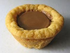 Peanut Butter Cup Peanut Butter Cookies