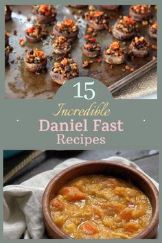 If you're looking for delicious meals you can eat on the Daniel Fast, I've got some great recipes for you. #danielfast #veganrecipes Sugar Foods, Low Sugar Recipes, Delicious Meals, Yummy Food, 21 Day Fast, Daniel Fast Recipes, Vegan Dishes, Amazing Grace, Great Recipes