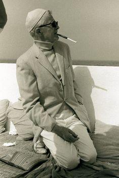 Paul Bowles in Tangier, 1975