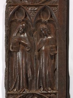 Panel from a Choir Stall | Cleveland Museum of Art. 1330-1340, Spain.