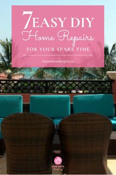 Not all of your home repairs have to take place on the inside. The exterior of your home is just as important, and it's the first thing guests will base their impressions upon. The following repairs are simple and easy, but they also make a huge impact. #DIY #home #decor #homedecor