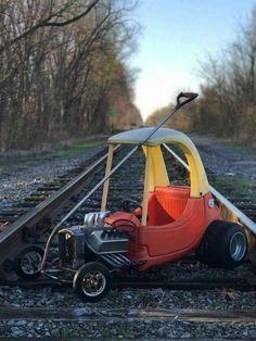 rat rod trucks and cars Rat Rod Cars, Pedal Cars, Arte Lowrider, Lowrider Bike, Radio Flyer Wagons, Drift Trike, Red Wagon, Kids Ride On, Mini Bike