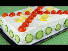 Reteta Tort aperitiv - JamilaCuisine - YouTube Finger Food Appetizers, Finger Foods, Appetizer Recipes, Salad Recipes, Sweets Recipes, Desserts, Sandwich Cake, Party Dishes, Romanian Food