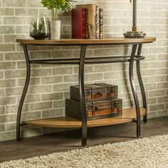 Found it at Wayfair - Baxton Studio Newcastle Console Table