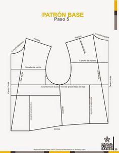 modelist kitapları: Manual-de-Patronaje-Basico-e-Interpretacion-de-Disenos Sewing Doll Clothes, Sewing Dolls, Fashion Templates, Modelista, Skirt Patterns Sewing, Pants Pattern, Fashion Sewing, Fashion Books, Pattern Books