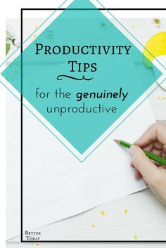 Is it just me or does it seem like all productivity advice is written by and for already productive people? They make it seem so simple with their list of tasks and blocking of distractions. Here are my tips for being productive when you're not a Type A. Time Management Strategies, Time Management Skills, Routine, Productive Things To Do, Productivity Hacks, Increase Productivity, Keeping A Journal, Achieving Goals, Self Development