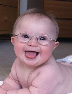 Happy World Down Syndrome Day! *March This Down Syndrome baby is soo cute. Precious Children, Beautiful Children, Beautiful Babies, Baby Kind, Baby Love, Little People, Little Ones, Cute Kids, Cute Babies