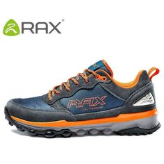the best attitude b3476 22005 Rax Men Hiking Shoes Genuine Leather Hiking Shoes For Men Autumn And Winter  Cushioning Outdoor Walking