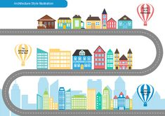 Architecture Style Infographics