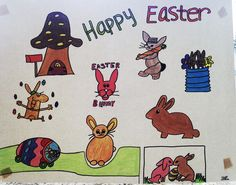 Happy Easter, My Drawings, Peanuts Comics, Snoopy, Fictional Characters, Art, Happy Easter Day, Kunst, Fantasy Characters