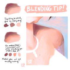 63 best Ideas for digital art tutorial skin Digital Art Tutorial, Digital Painting Tutorials, Painting Tips, Art Tutorials, Drawing Tutorials, Digital Paintings, Sketch Painting, Art Paintings, Art Sketches