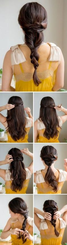 Bridesmaid Hairstyle Tutorial. Inspired by L'Oreal Advanced Hairstyle