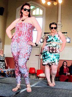 Gisela Ramirez @hey fatty and friends fashion fair