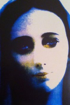 Miraculous picture of Our Lady of Medjugorje.