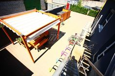 office | High-tech production оf MANEZH® sun protection systems