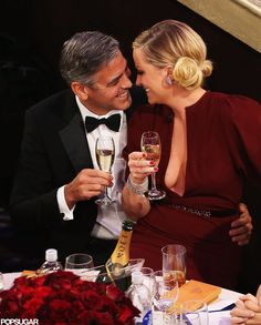 This was my favorite part!!!  amy pohler and george clooney