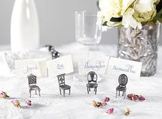 mini chair place card holders by patchwork harmony