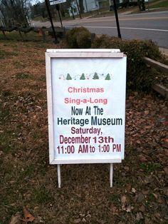 2014 Glen Carbon Open House & Sing Along, Sat, Dec 13, 11a-1p. Glen Carbon Heritage Museum ow.ly/FaM8t ow.ly/i/7Nc3q