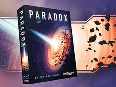 """Paradox: A Sci-Fi Puzzle Boardgame  """"Innovative is a word that I try not to throw around when I describe games, even ones I like or love… Paradox looks, feels, and plays in a way that truly deserves to be called innovative. [Designer Brian Suhre] found such an elegant way to incorporate a modern digital gaming meme into the cardboard world and put it in service of a grand strategy."""" -- Stephen Conway, The Spiel"""