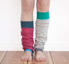 Custom leg warmers, yoga socks, dancer leg warmers, design your own
