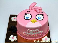 Pink Angry Bird Cake, London