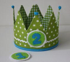 Verjaardagskroon Stoer Groen