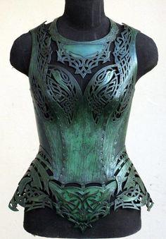 Where armor meets corset by Andrew Kanounov.