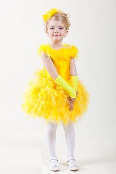 Как сделать костюм цыпленка для девочки?
