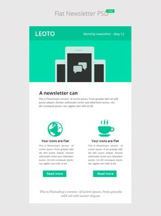 email newsletter design templates