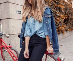 girl, fashion and hair image on We Heart It